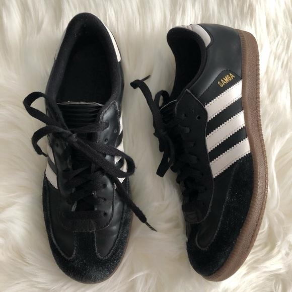 efa53698e adidas Shoes | Black Samba Indoor Soccer Sz 75 | Poshmark